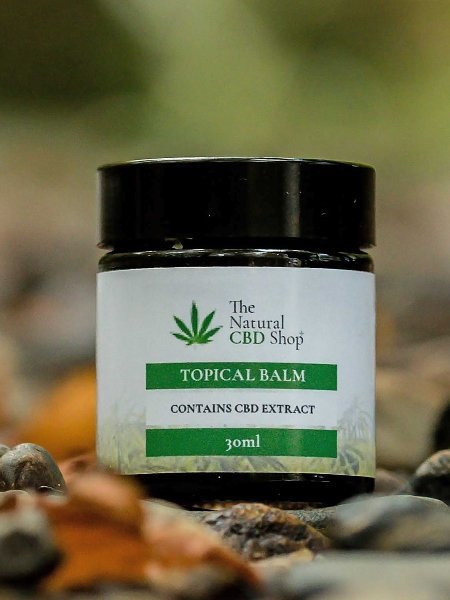 CBD Topical Balm from The Natural CBD Shop