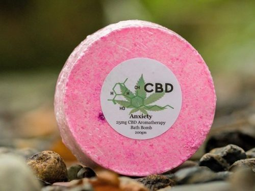 Anxiety Relief CBD Bath Bomb from The Natural CBD Shop