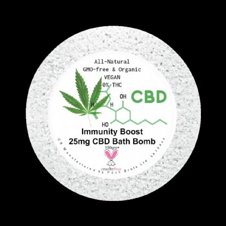 immunity boost CBD bath bomb