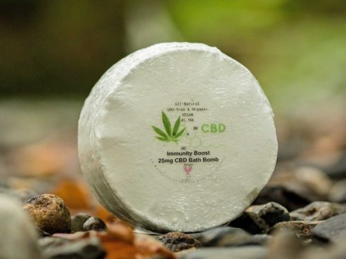 Immunity Boost CBD Bath Bomb from The Natural CBD Shop