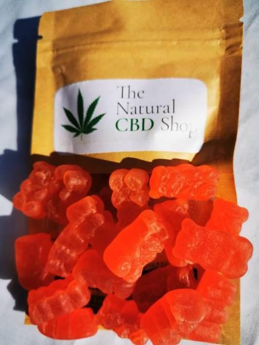 The Natural CBD Shop Vegan CBD Gummy Bears