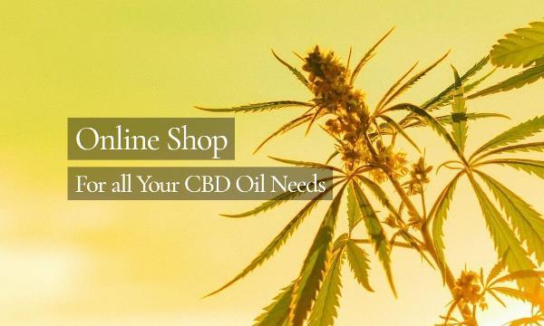 Natural CBD Shop Online ShopPage