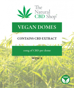 Vegan Domes from The Natural CBD Shop
