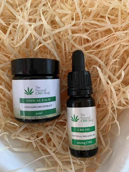 Spring Offer - CBD Balm and CBD Oil from The Natural CBD Shop