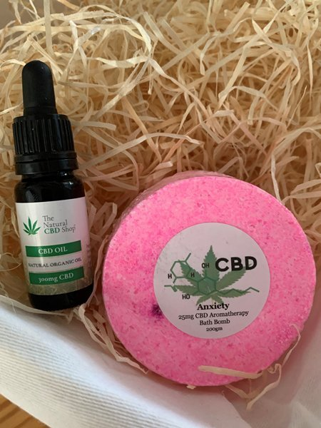 Spring Offer - CBD oil and CBD Bath bomb from The Natural CBD Shop